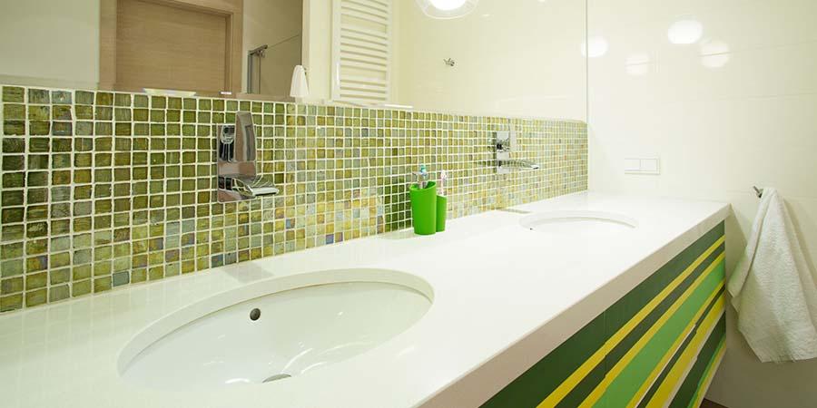 baños con colores