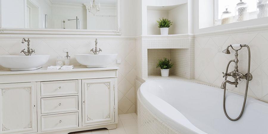 reforma de baños retro